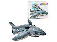 Надувной плот Intex 57525 Акула (173-107 см.)