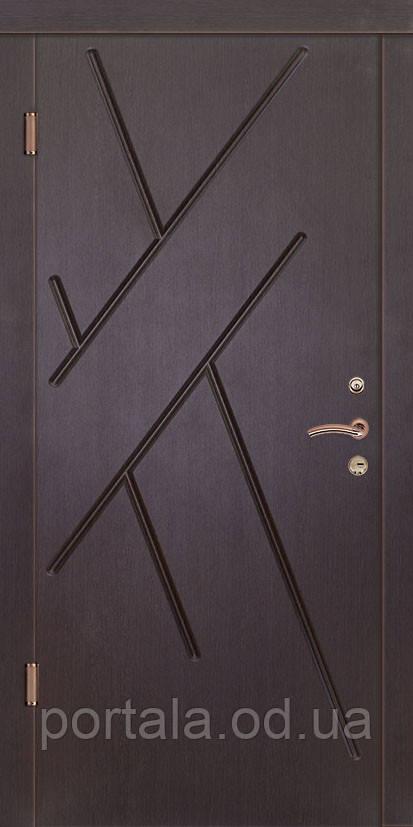 """Вхідні двері """"Портала"""" (серія Люкс) ― модель Ангола"""