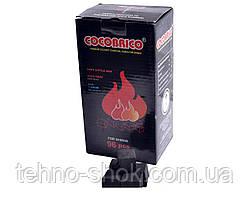 Уголь кокосовый для кальяна CocoBRiko узкий (Индонезия, 1кг/96 куб)