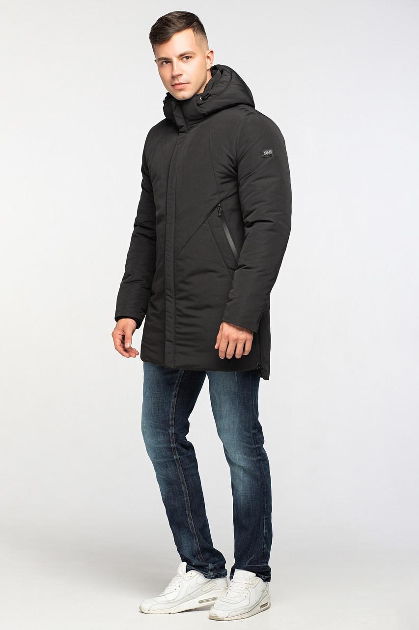Теплая мужская зимняя куртка KTL Т-290 черная (#44)