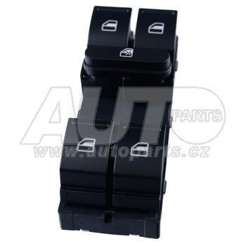 Блок кнопок стеклоподъемника FABIA, OCTAVIA A5, ROOMSTER, SUPER B, YETI