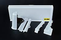 Плинтус Идеал Система. Цвет: Белый №001