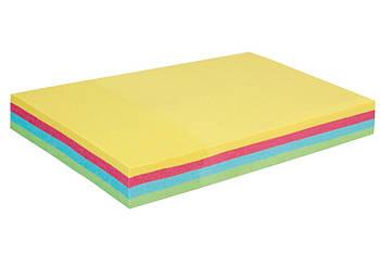 Блок стикеров для заметок Economix 50х75 мм, микс пастельный