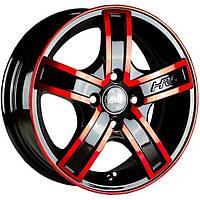 Литые диски Racing Wheels H-412 R14 W6 PCD4x114.3 ET38 DIA67.1 (BKFP)