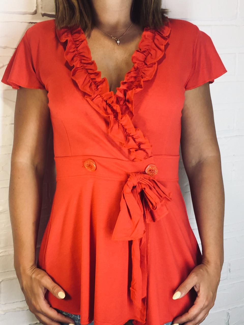 Блуза женская F29 FIFAYID красная