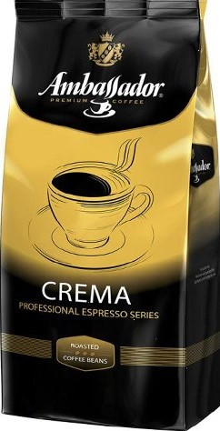 Кофе в зернах Ambassador Crema 1кг