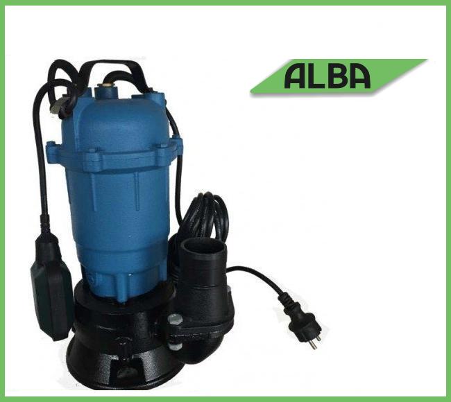Дренажно-фекальный насос ALBA WQD 550 (выносная защита от перегрузки по току)