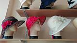 Шляпа с полями 10 см из натуральной соломки синамей размер 55-59 см, фото 8