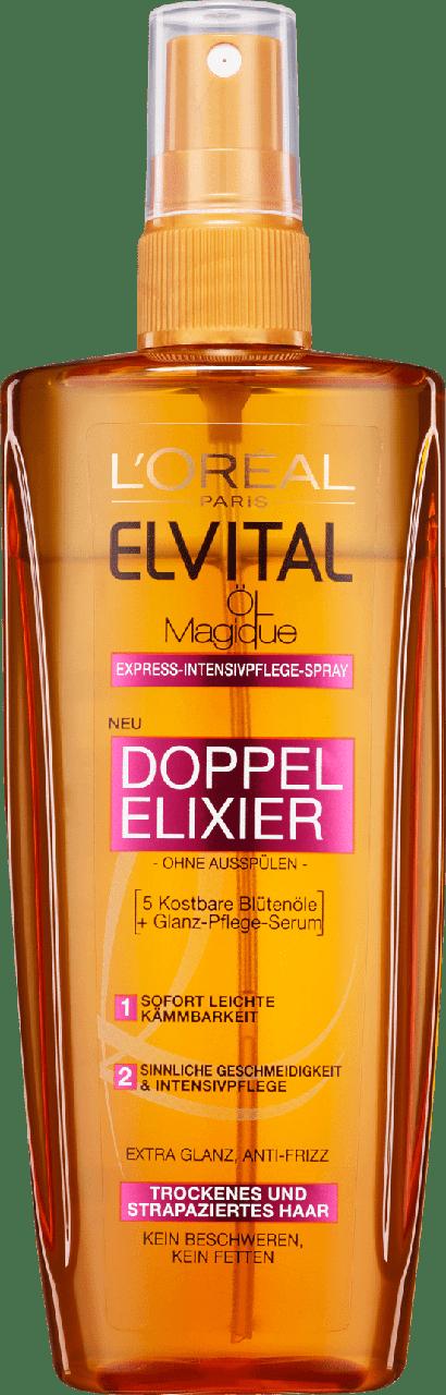 Восстанавливающее масло для волос L'Oréal Paris Elvital Doppel Elixier, 200 мл.