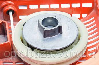 Стартер корпус металл, храповик металл, плавный пуск (4 зацепа) для бензопил серии 4500-5200 , фото 2
