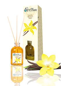 Аромат для дому офісу магазину ваніль 50 мл бамбуковий аромадиффузор ніжний пудровий аромат
