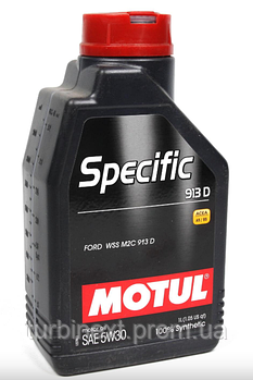 Масло 5W30 Specific (1L) (Ford WSS M2C 913D) (104559) MOTUL 856311
