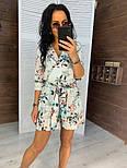 Женский летний ромпер/комбинезон (в расцветках), фото 6