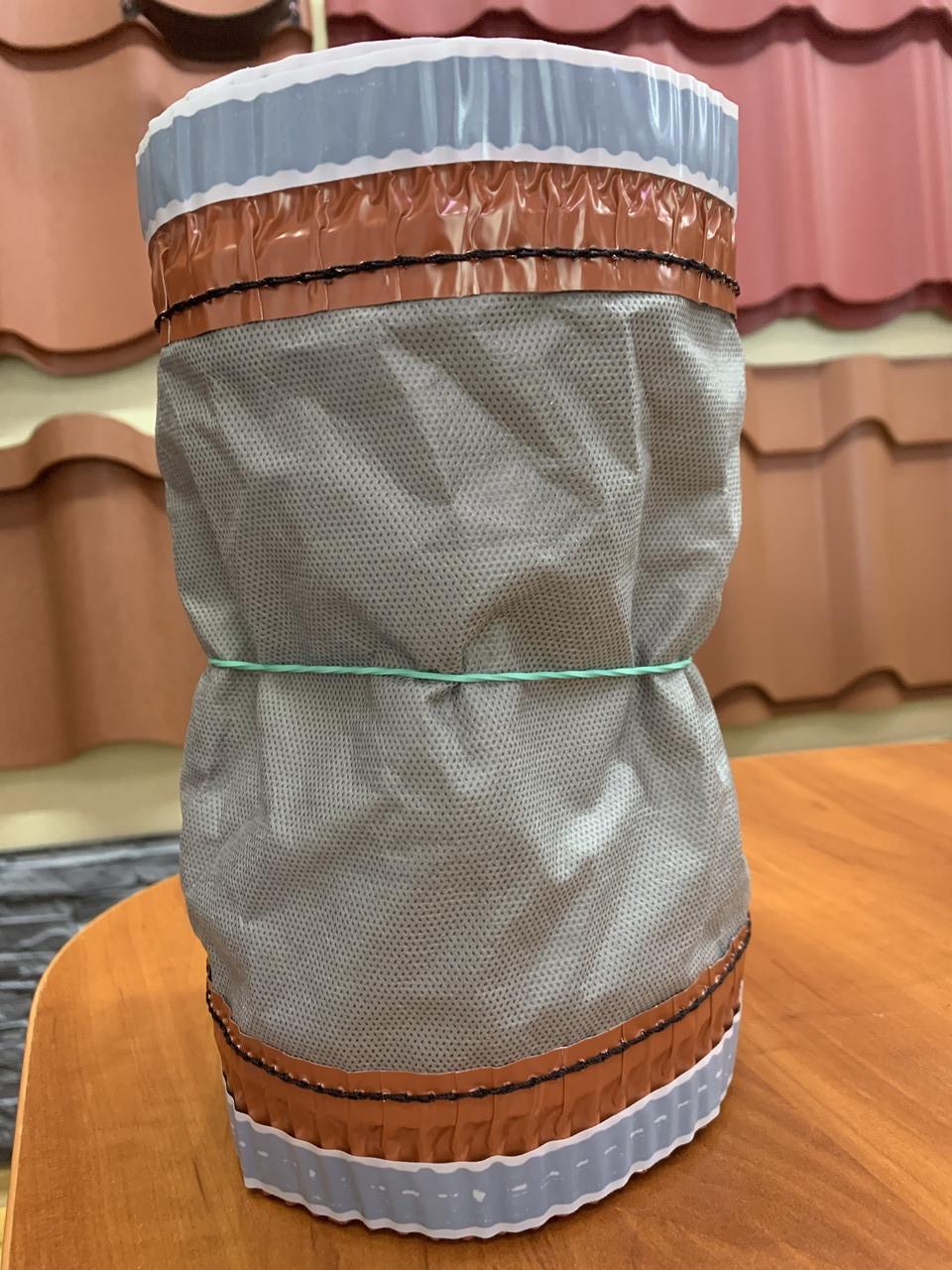 Коньковая лента для металлочерепицы, 240мм