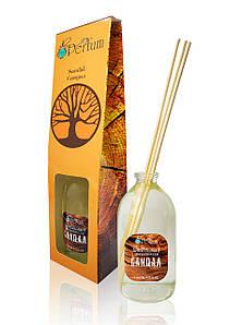 Аромат для дому офісу ресторану сандал 100 мл бамбуковий аромадиффузор деревний аромат