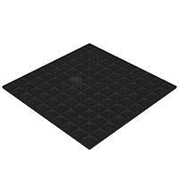 """Акустический поролон """"Пирамида 50 XL"""" (50 мм.) 1*1 м. звукопоглощающий. Чёрный графит"""