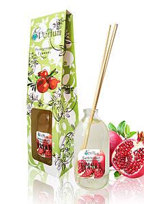 Аромат для дому офісу ресторану гранат 100 мл бамбуковий аромадиффузор солоденький аромат
