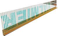 Профиль оконный примыкающий с сеткой Valmiera 6 мм, 2,4 м.п.