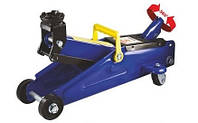 Домкрат Vitol гидравлический подкатной 2 т. (чемод.) Макс. подъем 350 мм. поворотная ручка ДП-20105К