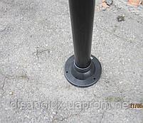 """Світильник парковий вуличний """"Стовп"""" 1м з базою для стовпа і куля ф150мм білий IP44, фото 9"""