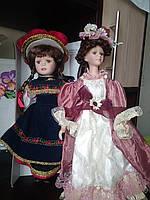 Кукла фарфоровая 40см