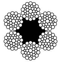 Канаты стальные диаметр 0,55-72,0 мм