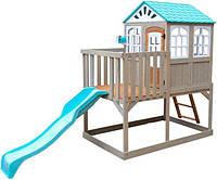 Деревянный детский домикс горкойHighline Retreat KidKraft F29060EF, фото 1