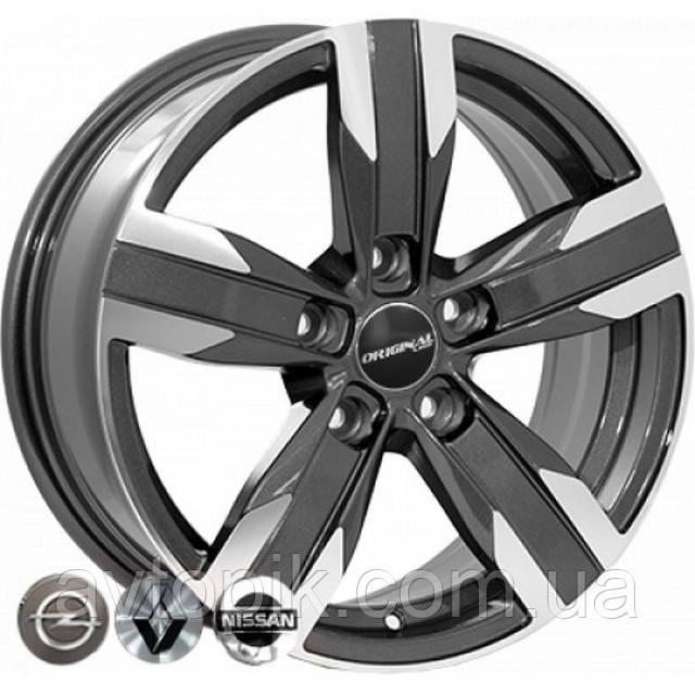 Литые диски Replica Mazda (FR784) R16 W6.5 PCD5x114.3 ET40 DIA67.1 (GMF)