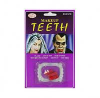 Карнавальные зубы вампира и капсулы с кровью 92763