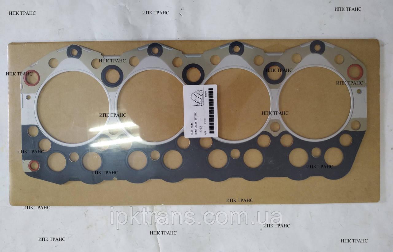 Прокладка ГБЦ MITSUBISHI S4S (металл) 32A01-02203, 32A0102203