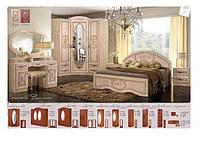 Спальня ВАСИЛИСА береза (Мастер Форм)