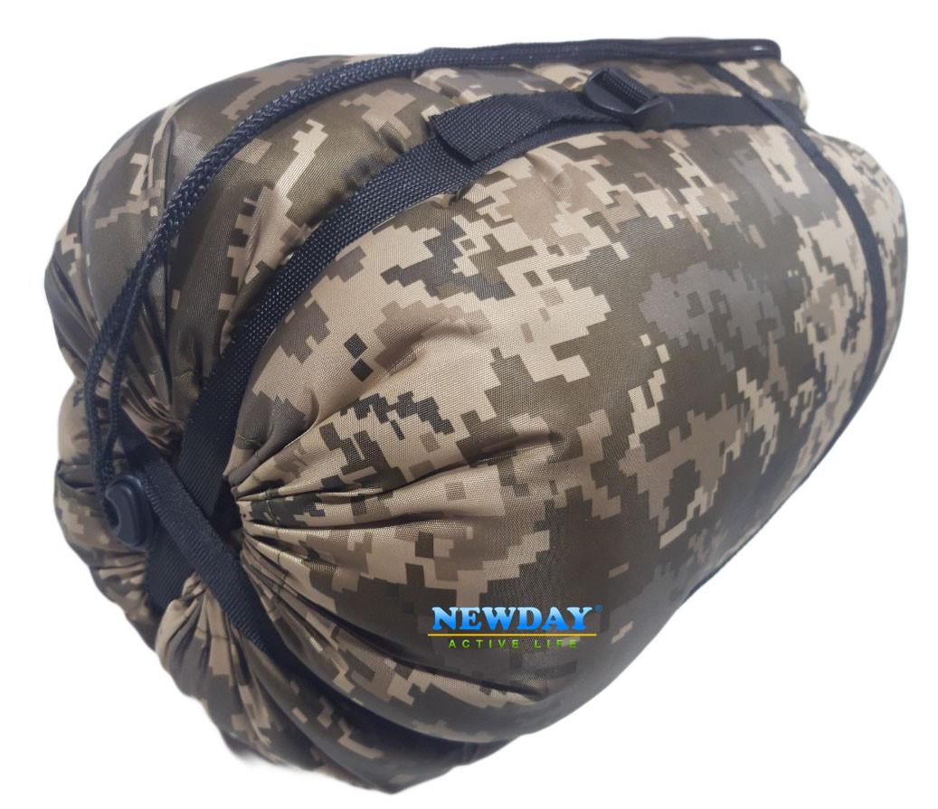 """Спальный мешок - одеяло """"Турист"""", камуфлированный, Украина"""