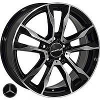 Литые диски Replica Mercedes (FR778) R17 W7 PCD5x112 ET45 DIA66.6 (BMF)