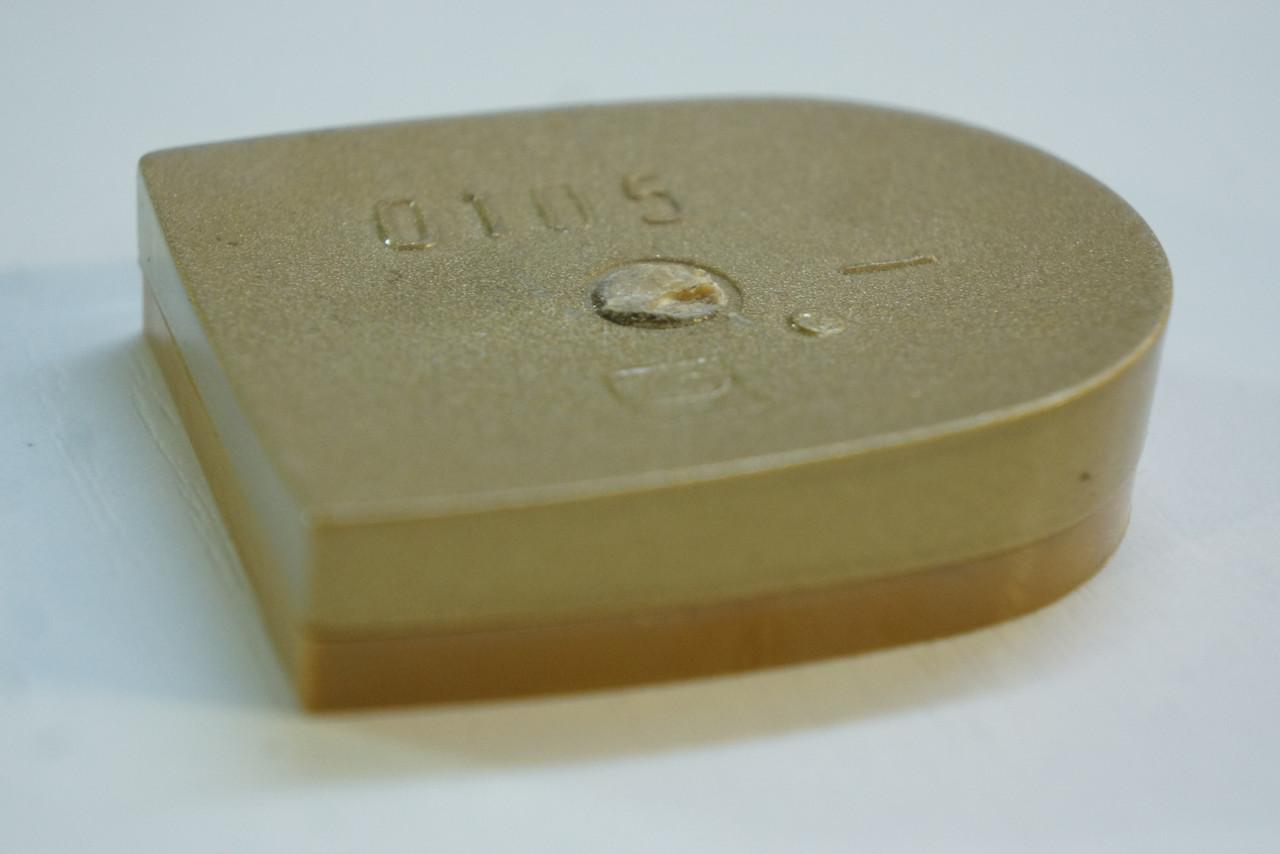 Каблук женский пластиковый  0105 р.1-3  h-1.0-1.2 см,цвет золото