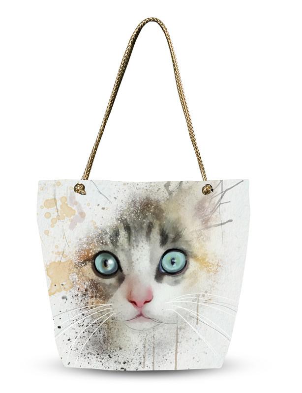 Женская 3D сумка Пушистик