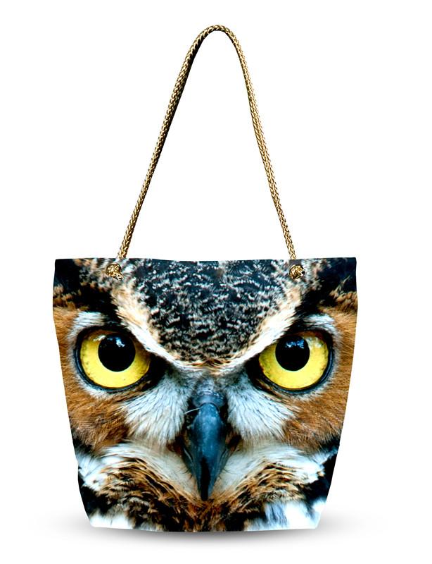 Женская сумка с 3D рисунком Хозяйка ночи