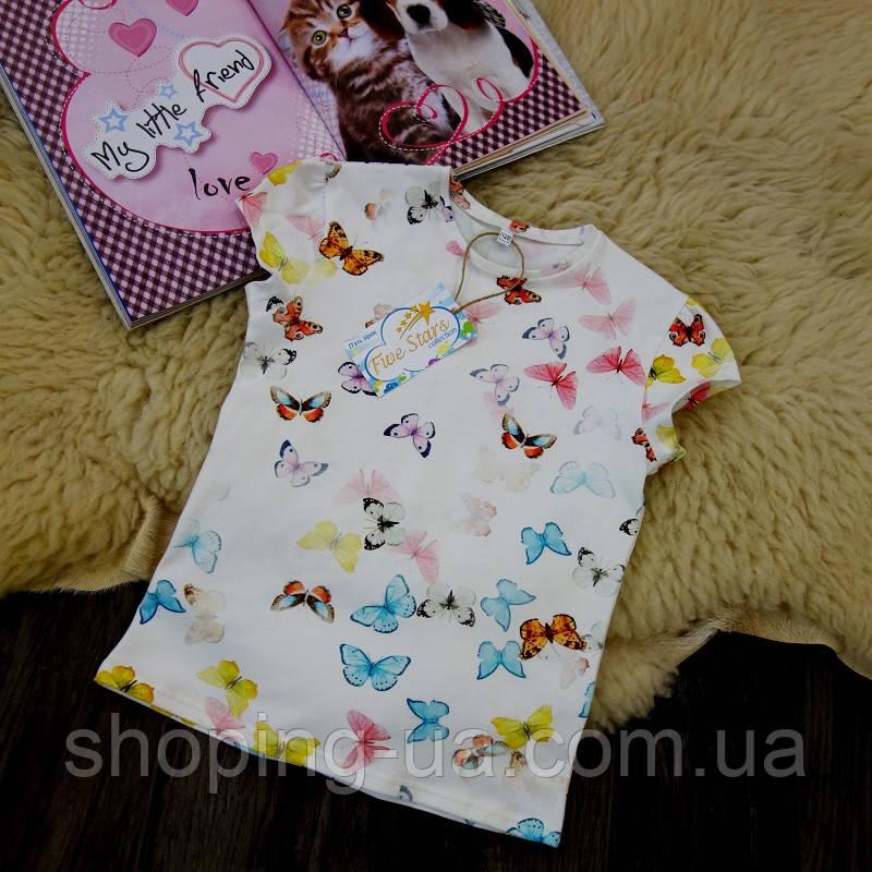 Детская футболка бабочки Five Stars KD0202-140p