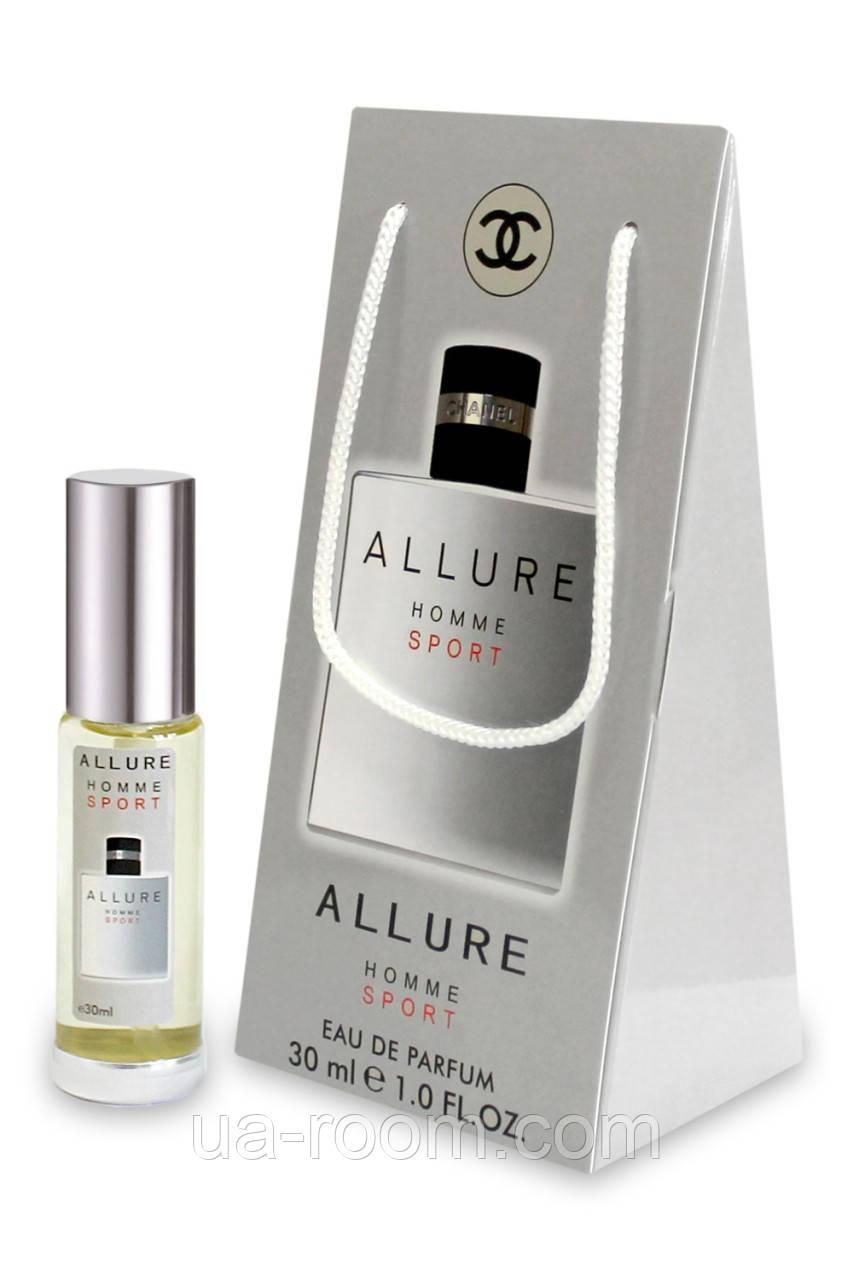 Мини-парфюм в подарочной упаковке Chanel Allure Homme Sport, 30 мл.