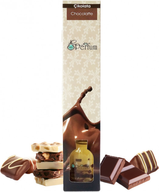Аромат для дома офиса ресторана Шоколад 50 мл бамбуковый аромадиффузор свежий аромат