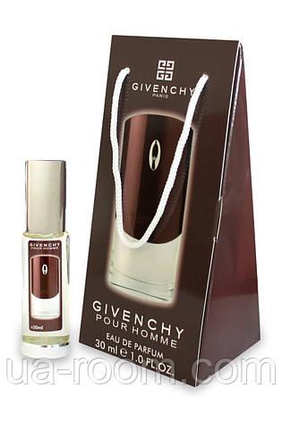 Мини-парфюм в подарочной упаковке Givenchy pour homme, 30 мл., фото 2