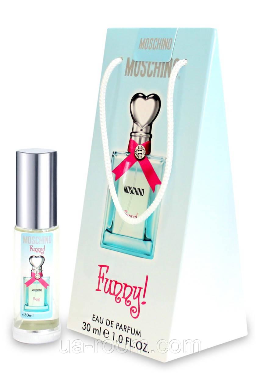 Мини-парфюм в подарочной упаковке Moschino Funny, 30 мл.