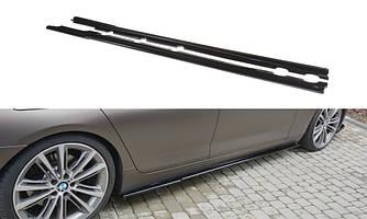 Пороги BMW F06 Gran Coupe елерон тюнінг обвіс