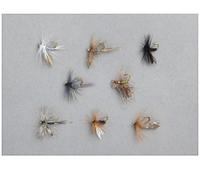 Мухи Balzer Dry Fly в наборе 8шт.