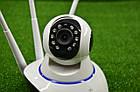 Поворотная Wi Fi IP-камера 3 антенны видеонаблюдения,ночная съемка,видеоняня, фото 2