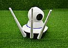 Поворотная Wi Fi IP-камера 3 антенны видеонаблюдения,ночная съемка,видеоняня, фото 3