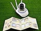 Поворотная Wi Fi IP-камера 3 антенны видеонаблюдения,ночная съемка,видеоняня, фото 5