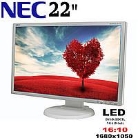 "Монитор 22"" Nec MultiSync E222W LCD 1680x1050(к.3877)"
