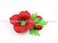 """Квіти з мастики - Набір """"Червоний мак"""" ∅75"""