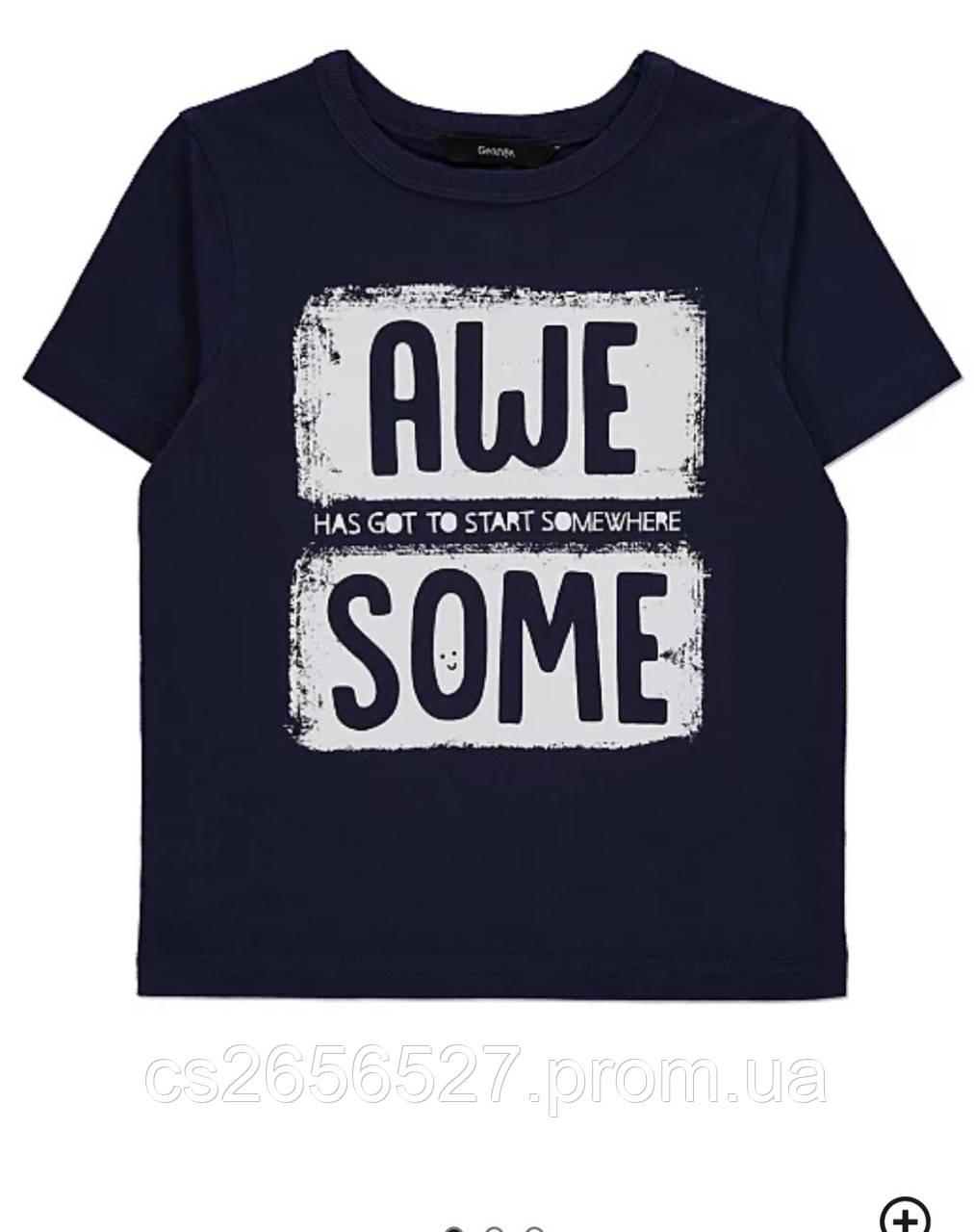 Детская футболка для мальчика, George