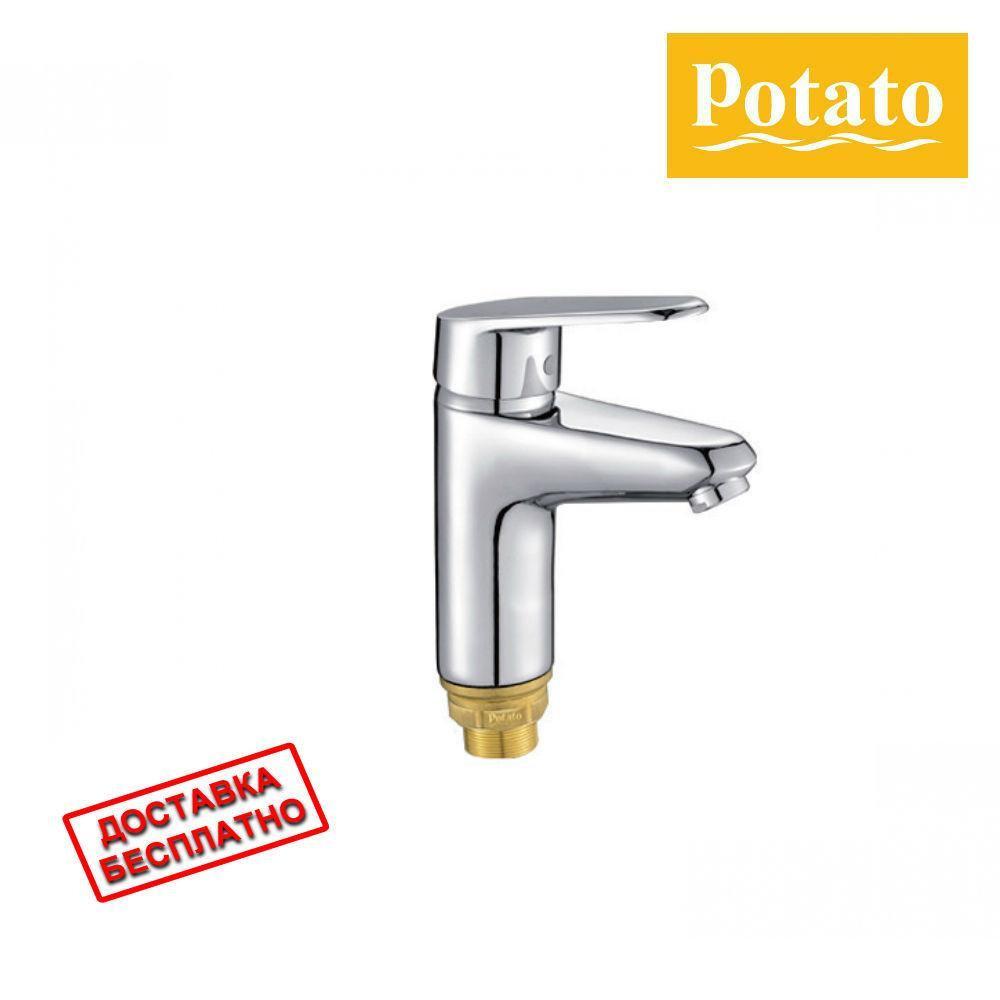 Смеситель для умывальника POTATO P1009